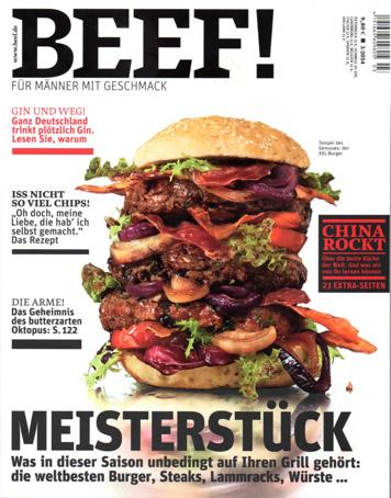 Articolo su Beef! di Marzo 2014